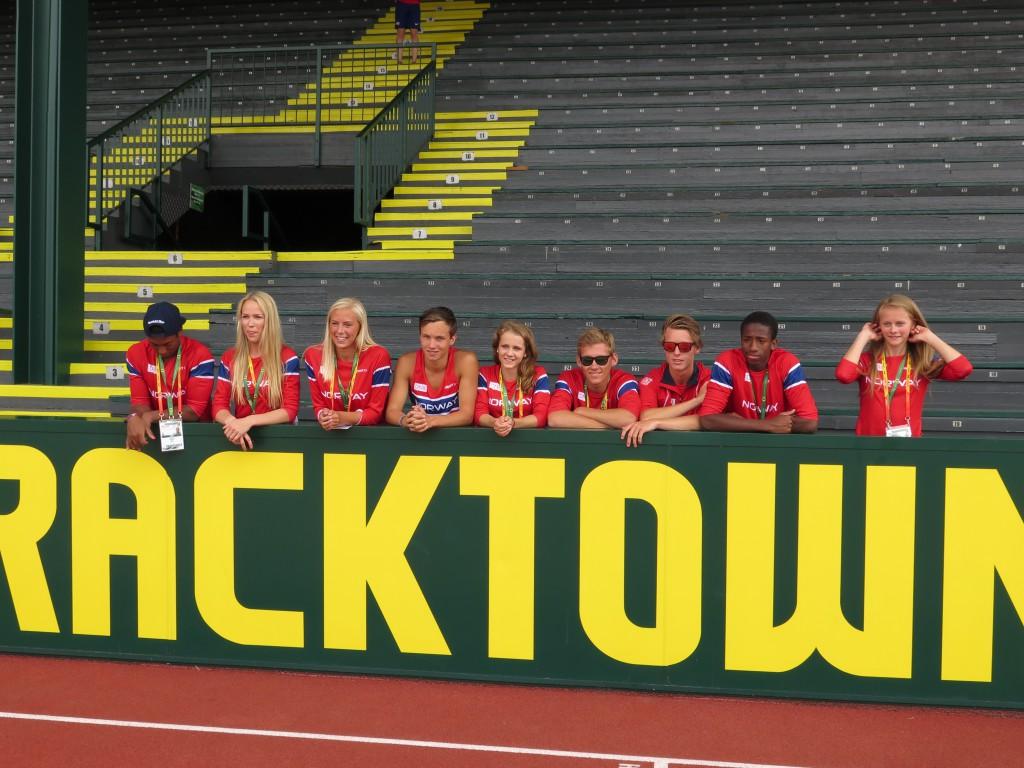 Junior VM sommeren 2014. Eugene USA